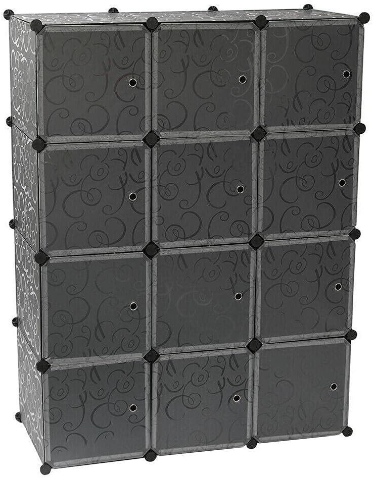 INTR 12-Cube Closet Organizer Popular Cabin Cubes Shelves Save money Storage
