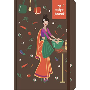 MatrikaS Recipe Journal - A5 - A (MatrikaS Recipe Journal Inspires The Chef in You, to be Creative in The Kitchen & Record Your Experiments with recipies!)