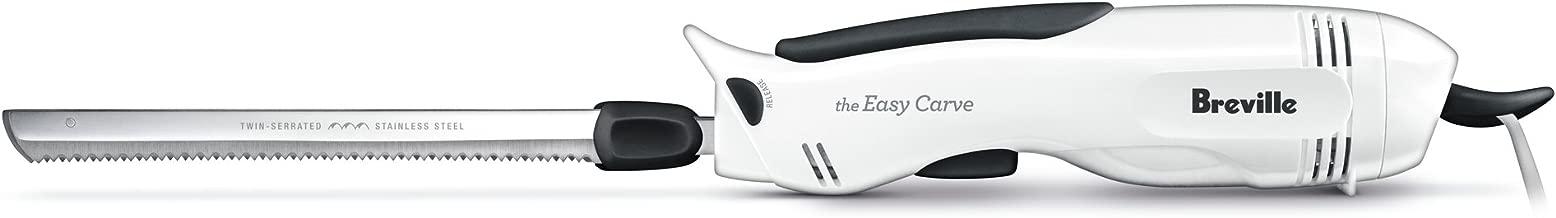 Breville Ezy Electric Carving Knife, White BEK5WHT