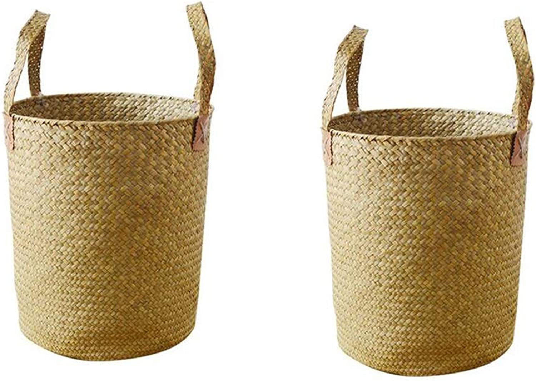 MUMA Storage Baskets Handle Easy Carrying Convenient Clothes Toys Container (color   T1, Size   30x35cm)