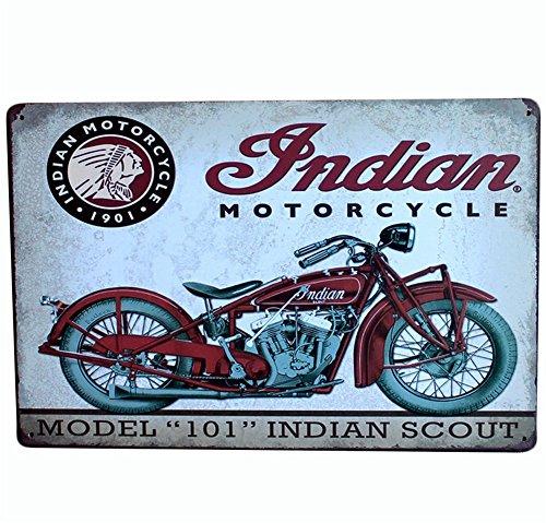 Chytaii.Placa de Arte Mural Motocicleta Señal de Retro Poster Caliente Metal Sign Retro de Oficina en casa Bar Tienda de café Lata Crafts
