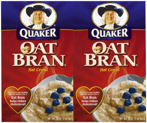 Quaker Oat Bran Hot Cereal - 16 oz - 2 pk
