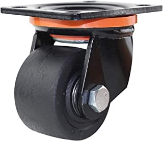 4 x nylon meubels CasterHeavy Dutty 3 inch middelzwaartepunt hoge temperatuurbestendigheid belasting 600 kg industriestand...