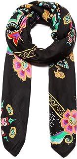 Foulard Mujer Desigual New Tapestry Negro