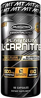 Muscletech Essential Series Platinum 100% L-Carnitine Standard - 60 Cápsulas