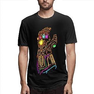 DAHWY Thanos Infinity Gauntlet Fashion Mens T-Shirt