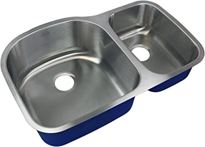 Elkay 242581 Stainless Steel Double Bowl Undermount Kitchen Sink Satin 31 1 4 Inch By 20 Inch Double Bowl Kitchen Sinks Fcteutonia05 De