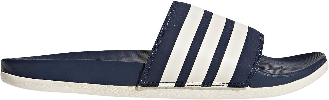 adidas Adilette Cloudfoam Plus Stripes, Chaussures de Plage ...