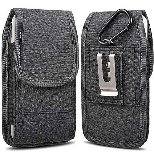 """miadore Custodia per Cellulare per iPhone 11 PRO / 8 Plus, Custodia per Cintura Verticale Universale per Telefono con Slot per schede aggiuntivi [Adatto per telefoni da 5,5""""]"""