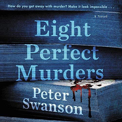 Eight Perfect Murders audiobook cover art