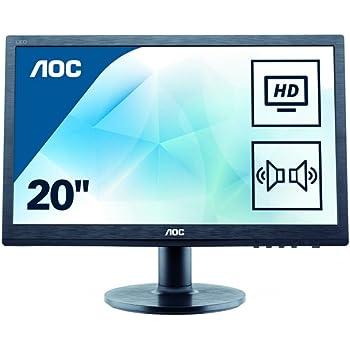 AOC Monitores M2060SWDA2 - Monitor de 19.53