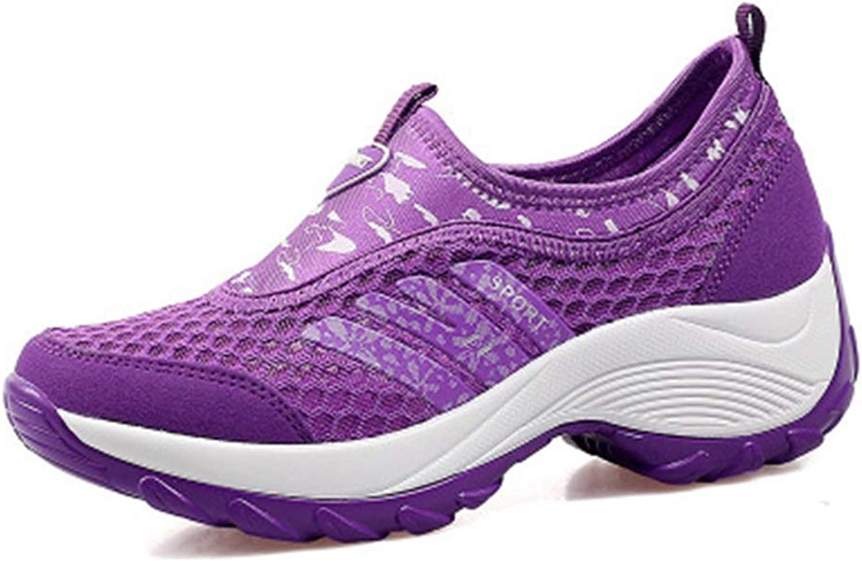 Elsa Wilcox Women Outdoor Running Trail Hiker Non-Slip Casual Climbing Sneakers Lightweight Mesh Hiking shoes