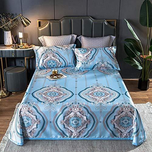 KIKIGO Conditioning Soft Mat,Summer Ice Silk Mat,Summer double bed mat, cold air-conditioning soft mat-A17