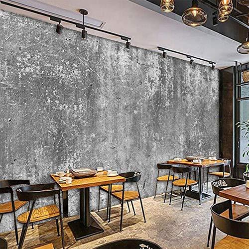 Personalizado Personalidad Retro Cemento Pared Pintura Cafetería Té Tienda Ocio Viento Industrial Papel Tapiz De Fondo Decorativo-400Cmx280Cm