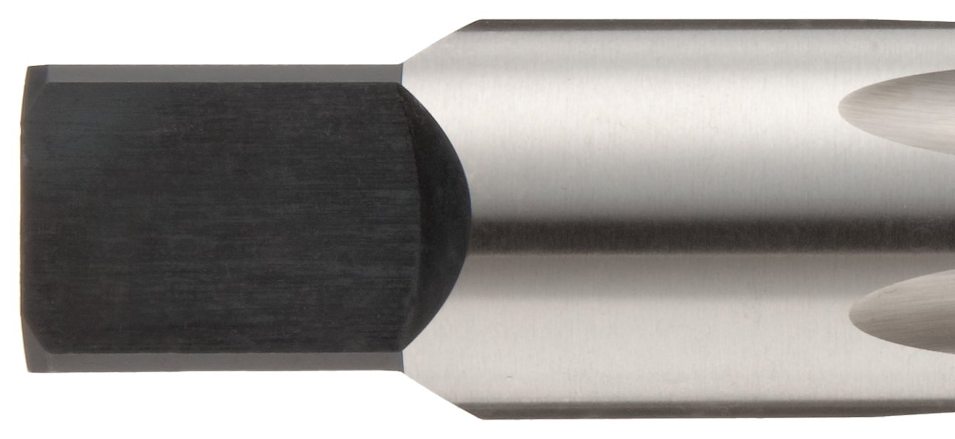 Bright 8-32 Thread Size Plug Chamfer Finish H3 Tolerance Union Butterfield 1528 Uncoated Round Shank with Square End High-Speed Steel Hand Tap UNC 2 Flute