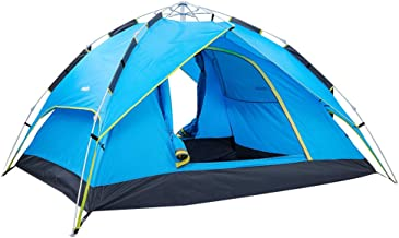 Sponsored Ad - 2-4 Person Pop Up Tents for Camping Waterproof, Instant Tent 4 Person for Family Camping, Automatic Tent Ea...