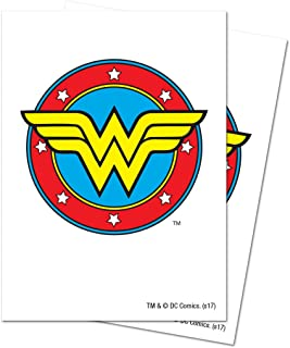 D.C. Comics Justice League Wonder Woman Deck Protector Sleeves (65 ct.)