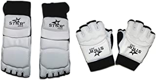 Taekwondo Karate Martial Arts Foot Guard Hand Protector Sparring Instep Gear