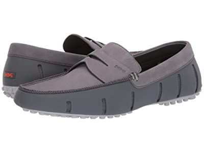SWIMS Penny Lux Loafer Driver (Gray/Alloy) Men