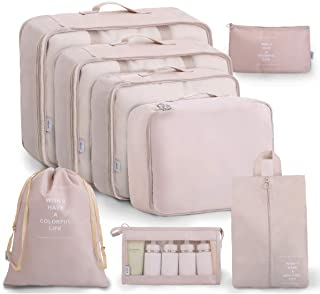 OEE Luggage Packing Organizers Packing Cubes Set for Travel …
