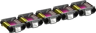 Evolis Badgy CBGR0100C Color Ribbon x 5- YMCKO - 100 Prints with Bodno Software Demo