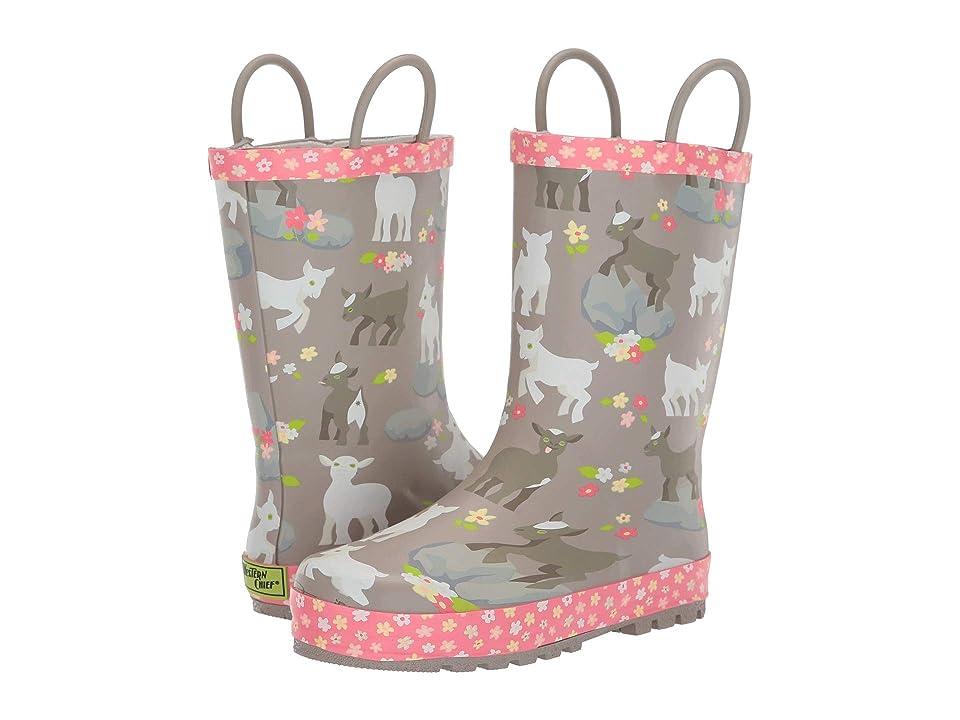 Western Chief Kids Limited Edition Printed Rain Boots (Toddler/Little Kid/Big Kid) (Kidding Around Hazelnut) Girls Shoes
