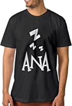 CEDAEI OverW Game New Hero Ana Men's Trendy T-shirt Black