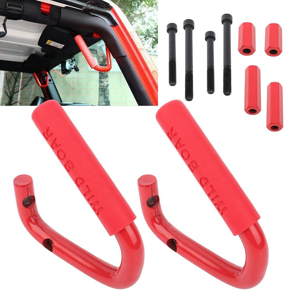 Translated cciyu Front Grab Handles fit for Jeep Wrangler Sales of SALE items from new works Sah JKU JK Sports