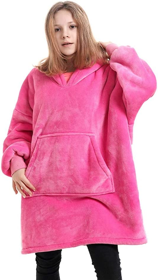 ZHUANYIYI Hooded TV Blanket Flannel Children's Warm Sofa Sales for Max 81% OFF sale