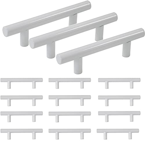 White Kitchen Cabinet Handles: Amazon.com