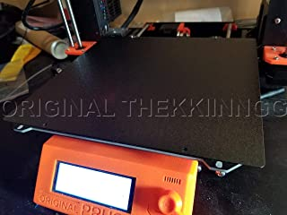 Thekkiinngg Prusa MK3 /S Double-Sided Textured Pei Powder-Coated Sheet V4
