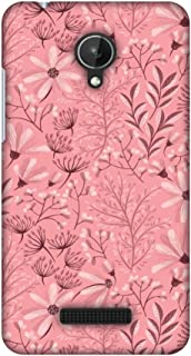 Micromax Canvas Spark Q380 Case, Premium Handcrafted Designer Hard Shell Snap On Case Shockproof Printed Back Cover for Micromax Canvas Spark Q380 - Pretty Flowers 3