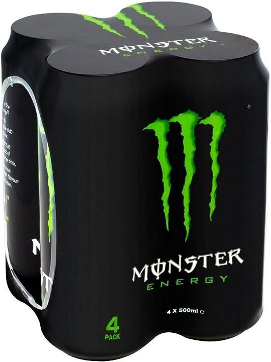Monster bevanda energetica (4x500ml) (confezione da 2) B01121L0C2
