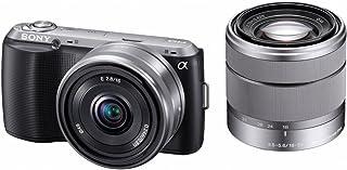 ソニー SONY ミラーレス一眼 α NEX-C3 ダブルレンズキット E 16mm F2.8+E 18-55mm F3.5-5.6 OSS付属 ブラック NEX-C3D/B