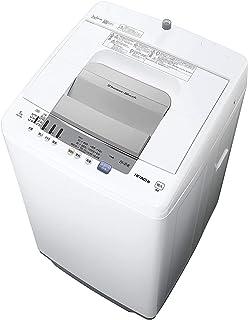 日立 全自動洗濯機 白い約束 洗濯7kg 本体幅53cm NW-R705 W ピュアホワイト