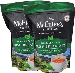 McEntee's Irish Breakfast Tea (pak van 2) - zakken van 250 g - vakkundig gemengd in Ierland. Een traditionele Ierse melang...
