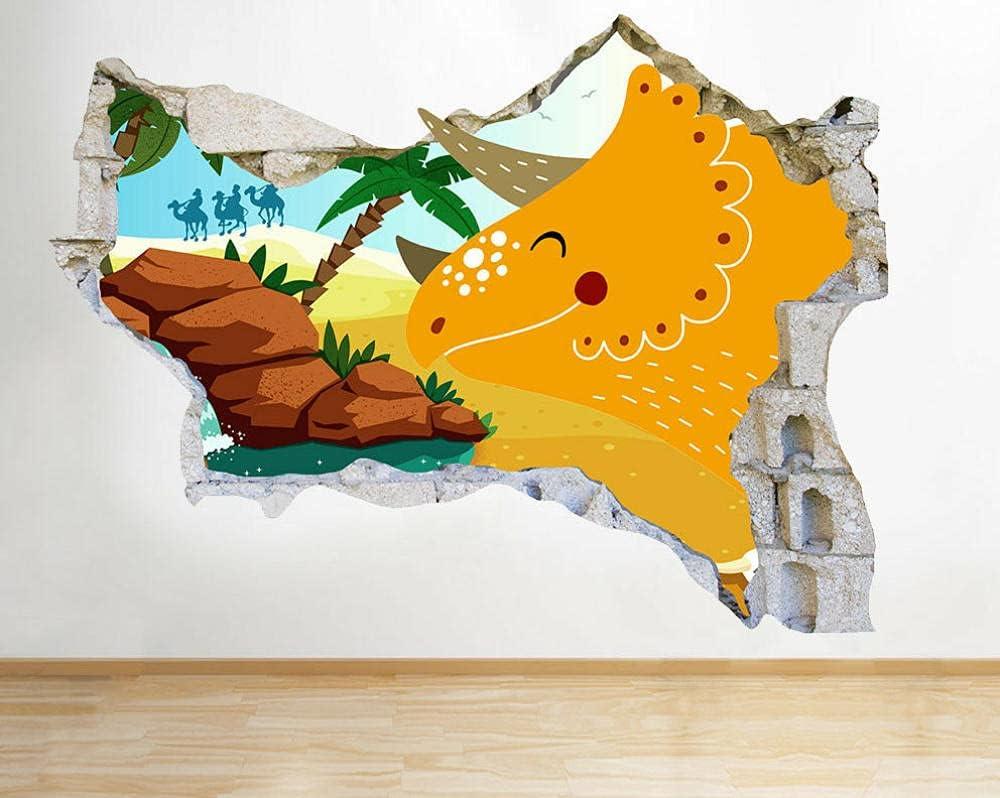 CSCH Wall Stickers Murals Dinosaur Nursery Boys St Yellow Ranking TOP9 San Diego Mall