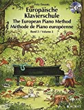 Europäische Klavierschule: Band 2. Klavier. Ausgabe mit CD. - Fritz Emonts