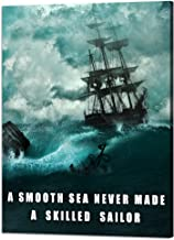 smooth seas never made a skilled sailor quote