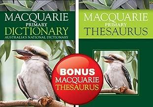 Macquarie Primary Dictionary + Bonus Primary Thesaurus