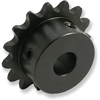 1-1//4 Finished Bore 5//8 Pitch 1-1//4 Finished Bore Bearings Ltd. 17 Teeth TRITAN 50BS17H X 1 1//4 Finished Bore B-Hub Sprocket 5//8 Pitch