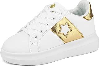 DREAM PAIRS Boys Girls Lace up Platform Walking Sneaker Shoes