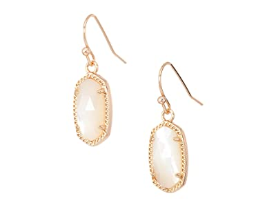 Kendra Scott Lee Earring (Rose Gold/Ivory Mother Of Pearl) Earring