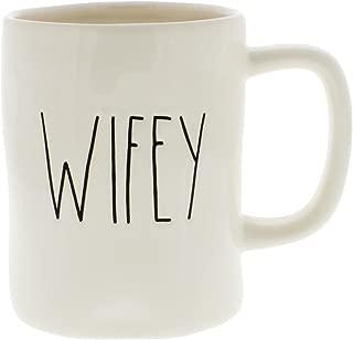 Rae Dunn Magenta Ceramic Coffee Mug Wifey
