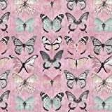 Verhees Canvas Beautiful Butterflies, pink, Digitaldruck 50