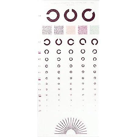 視力表 ランドルト 3m