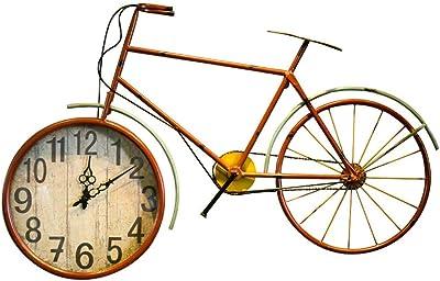 Vintage Hierro Forjado Bicicleta Reloj De Pared Estudio Fondo ...