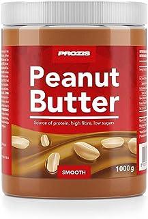 Prozis Peanut Butter 1kg - Deliciosa y de Textura Cremosa - Fuente Natural de Proteína - Apta para Dietas Veganas, Kosher y Halal - Sin Sal Añadida y Sin Grasas Trans