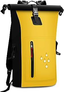 防水 リュック バッグ リュックサック 大容量 25L スマホ用 防水ケース付き バイク 登山 釣り アウトドア サイクリング 海 旅行 バッグ ザック