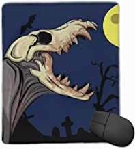 Gaming Muis Mat Office Pad, Halloween Schedel Mons...